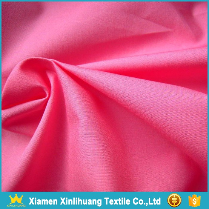China Suppiler Wholesale Combed Cotton Poplin Fabric for Garment