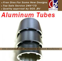 Aluminium pipe with large diameter and thin thickness