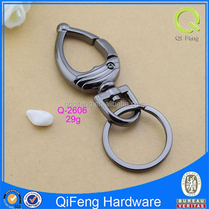 Q-2606 quick release towing hook,key ring snap hook , bag parts hardware