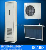 Vacuum Tube 48000btu 14000w 220-240v Floor standing Type Hybrid solar air conditioner