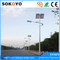 LED Solar Powered Street Light 6m