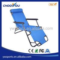Aluminum Folding Adjustable Beach Chair, Deck Chair, Plastic Folding Chair