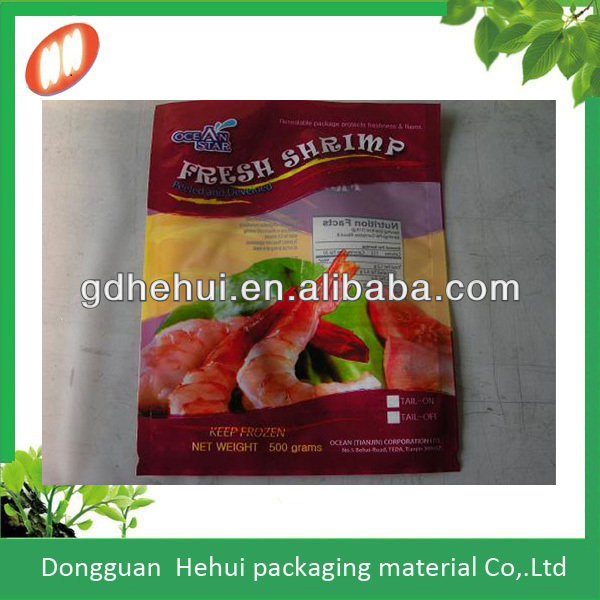 Asia alibaba china plastic frozen food packaging bag