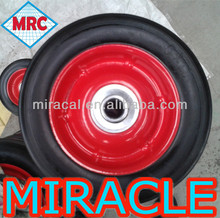 Hand Cart Wheel Solid Rubber Tires / Solid Rubber Wheel