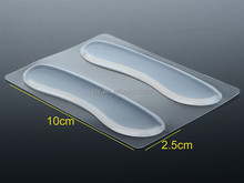 1Pair Silicone Gel Heel Cushion protector Foot Care Shoe Insert Pad Insole Cool