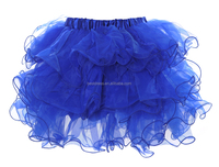 Fairy Lolita Goth Bubble Rose 8 Layer Tier Tutu Tulle Frilly Petal Skirt S M L XL