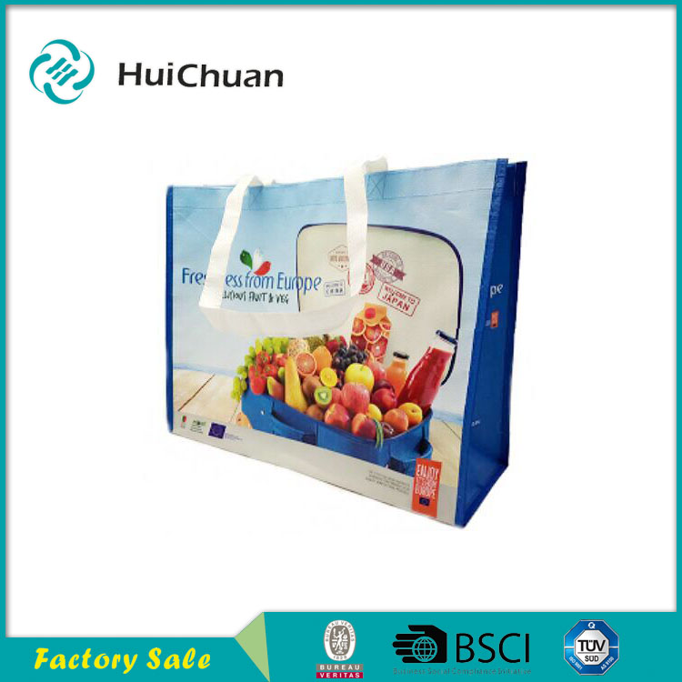 China manufacture reusable cheap pp woven shopping bags