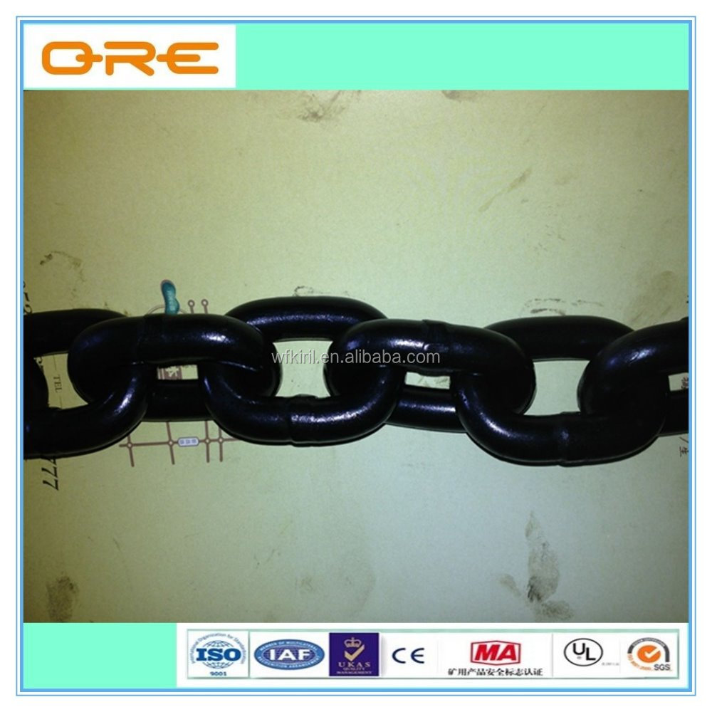 Grade C Three-link Chain for Coal Transfer Mining Chain Wholesale