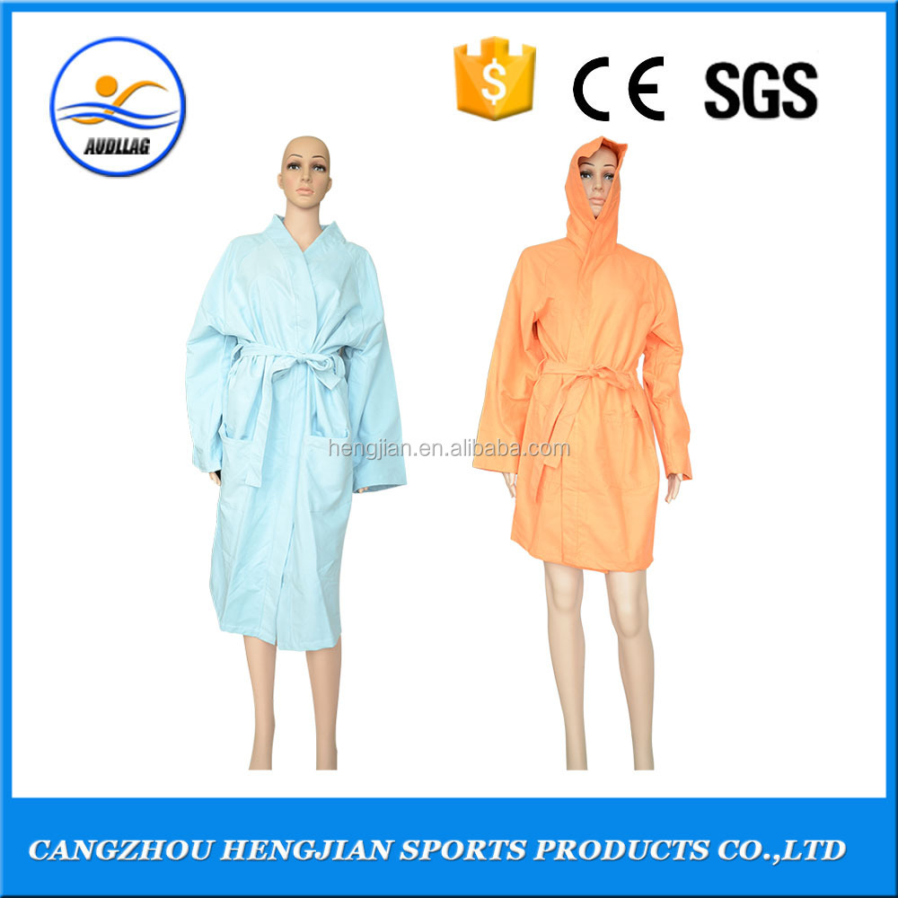 Professional designer design funky comfortable long warm summer microfiber dressing gowns