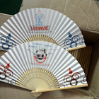 good quality wholesale chinese paper folding fans