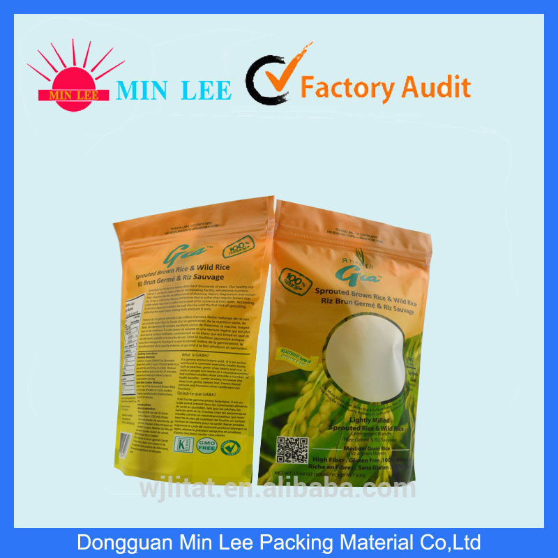 Plastic vegetable seed packing made in China