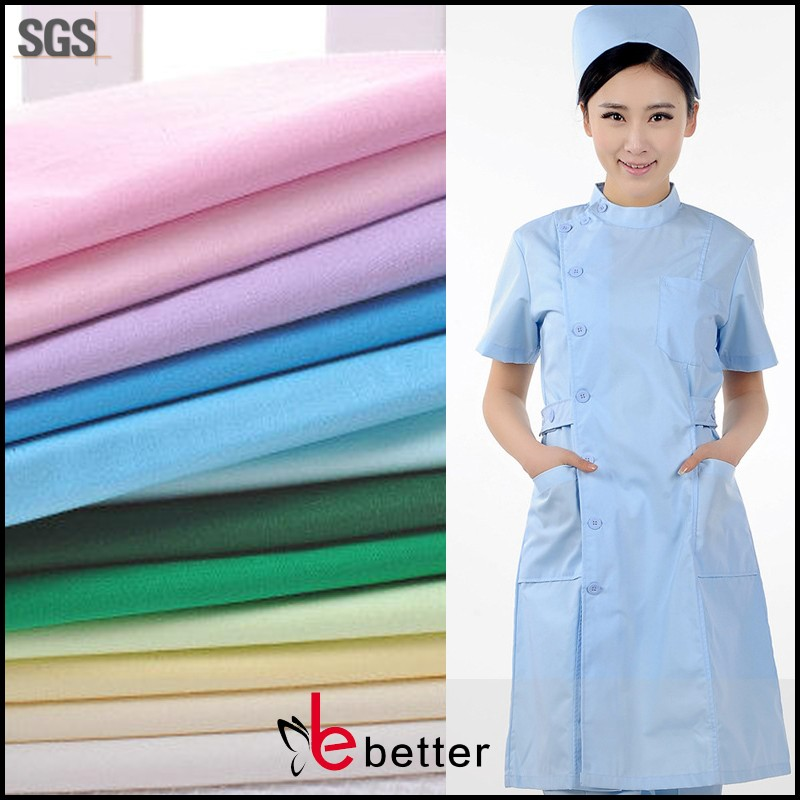 "clothing fabric pocket lining polyester fabric T/T 21x21 100x52 57/58"" dyed/bleached polyester fabric"