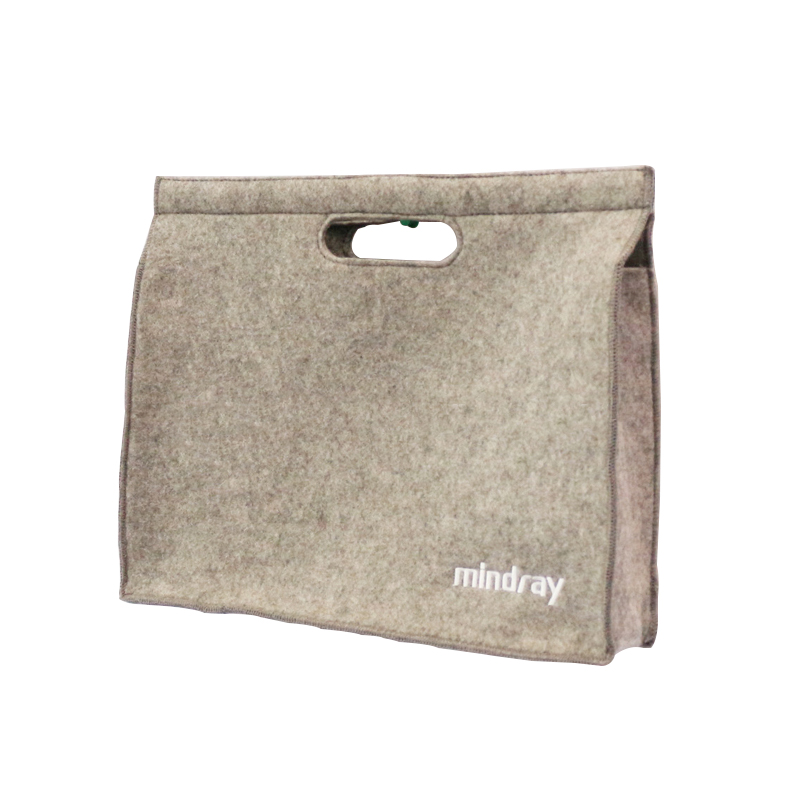 china manufacturer new design tote bag custom eco felt shopping bags wholesale