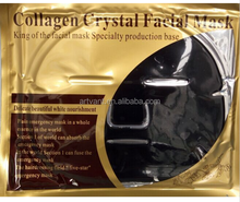 Bamboo Charcoal crystal Collagen face mask Pore Cleaning Wrinkles Removing Facial Collagen Mask