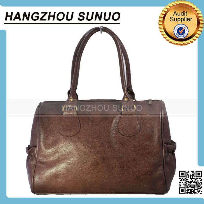 work to weekend style chocolate concealed carry handbag