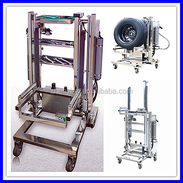 pneumatic portable tyre changer