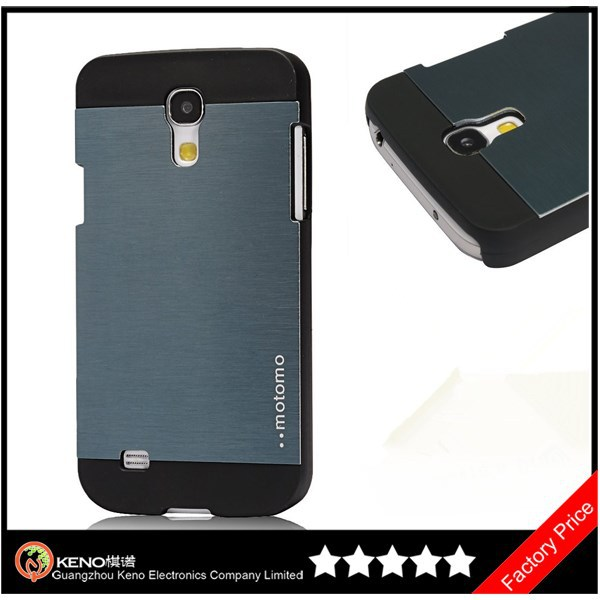 Keno Luxury Brushed Metal Shockproof Case for Samsung Galaxy S4 Mini i9190