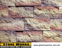 MANUFACTURED STONE WALL CLADDING - SANDSTONE Mineret
