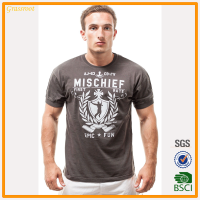 Summer low price wholesale men's t-shirt good quality for strong slim fit t shirt