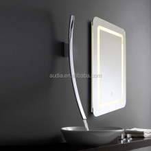 2017 CE Modern Bathroom Bath LED touch smart Mirror Wall Light lamp