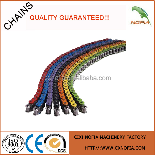 420 428 428H 520 530 Color motorcycle chain