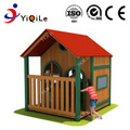 Top quality outdoor playground games garden wood house for children