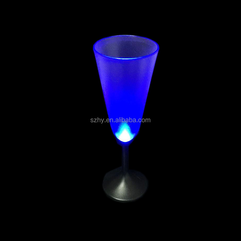 250 ml champagne led party glasses