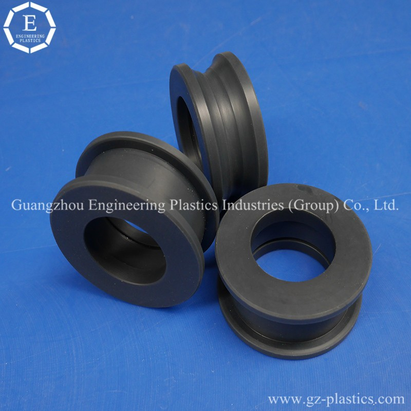 General engineering plastics cnc machined polymide plastic products nylatron pulleys