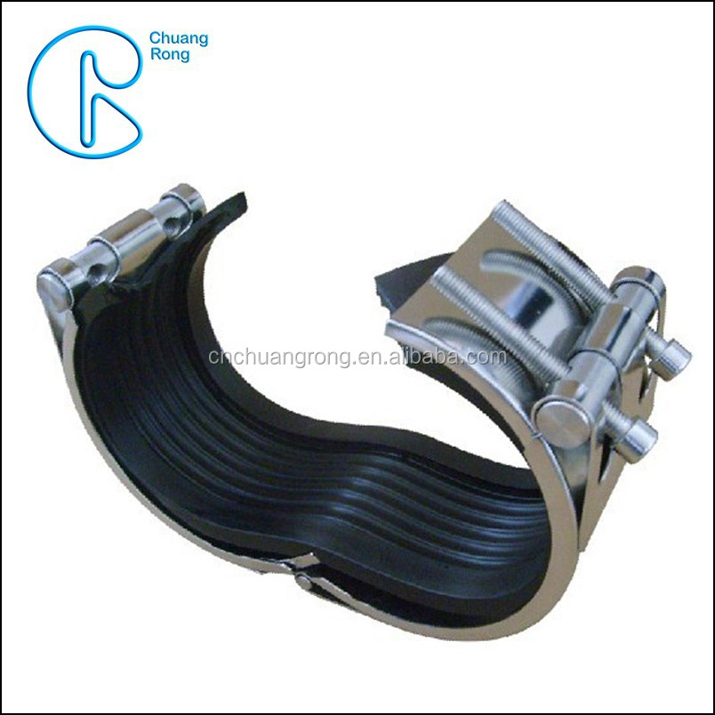 Hdpe pipe repair clamp price buy