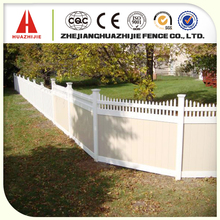 Decorative vinyl lattice fence with high quality