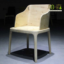 Wood dining room chair , Leather ding chair for sale