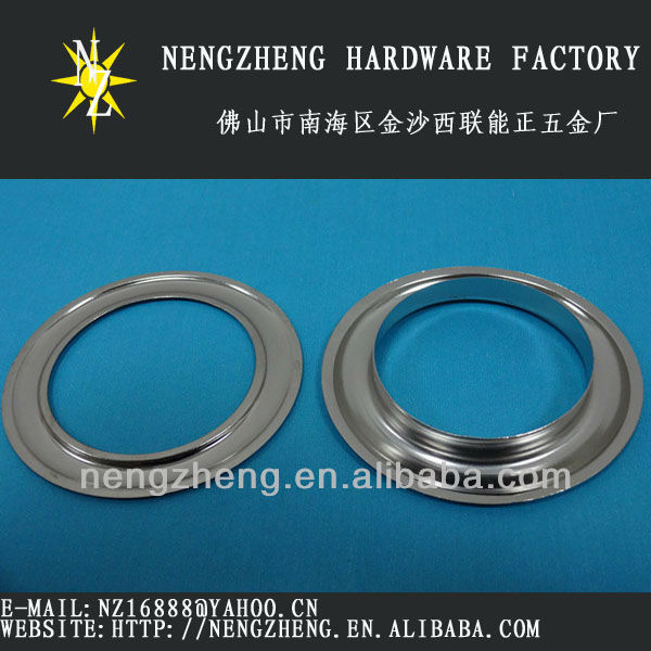 40mm Metal Curtain Eyelet/Brass Eyelets For Curtain