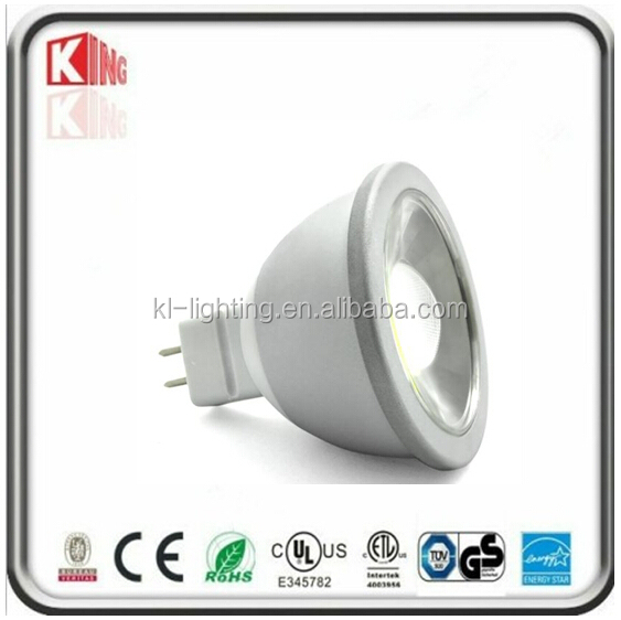6w/7w led mr16 downlight spot 12Vac/dc gu5.3 halogen 50w CE/ETL famous Kingliming