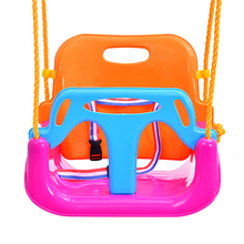 brand factory sale Children outdoor playground plastic colorful kids swing for slide