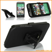 Hybrid Combo Stand Case for HTC one M8,for Cell Phone 2 in 1 cover