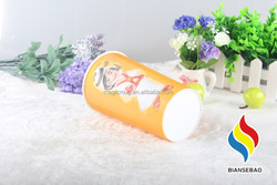 8oz Disposable colored Plastic Cup for drinking