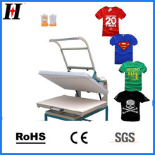 Magnetic manual cheap used t shirt heat transfer press machine for sale