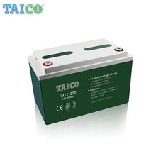 Shenzhen solar panel deep cycle 12v gel agm battery 100 ah