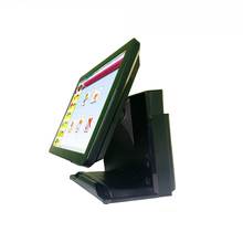 Retail Restaurant Pos All In One 15 Inch Cash Machine Newest Touch Screen Pos System with Windows 7