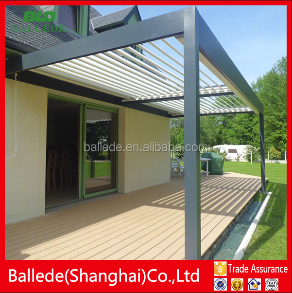 Rainproof customized auto garden pavilion outdoor