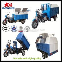 2015 Promotional china manufacturer 2013 new cheap rubbish handicapped tricycl with CE in Mexico