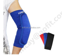 alibaba express black /blue/red rubber thicked orthopedic elbow brace support for men