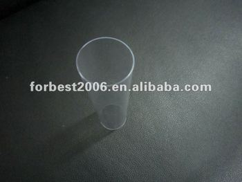 Transparent hard clear pvc pipe with 2mm thickness