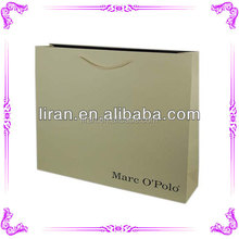 Custom Printed Metallic Color Shopping Bags Wholesale