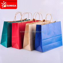 Custom branded disposable shopping paper bag