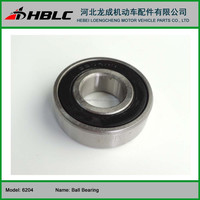 High Quality Deep Groove Ball Bearing 6204 for motorcycle