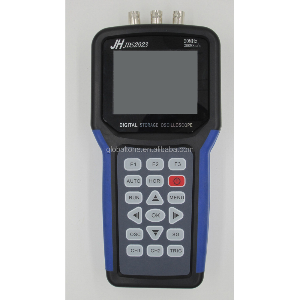 Professional Handheld Digital Storage Oscilloscope 20MHz,1 Channel,200MS/s Sample Rate for Engineers