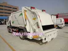 Dongfeng 4x2 waste management trucks waste compactor truck