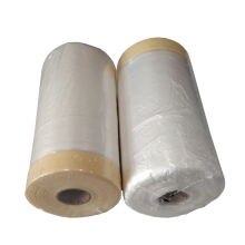 Auto Paint Plastic PE Masking Film For Car Painting