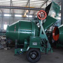 block self-loading high quality with Diesel Engine concrete mixer specification